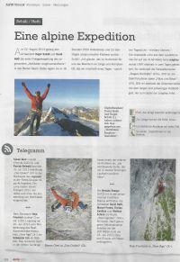 Alpin - Erstbegehungen