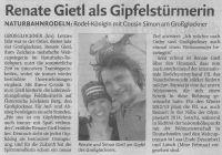 Dolomiten - Großglockner mit Renate Gietl
