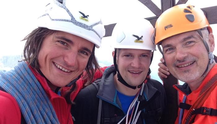 Große Zinne über die Dibona-Kante mit Christian Schmitz und Simon Gietl